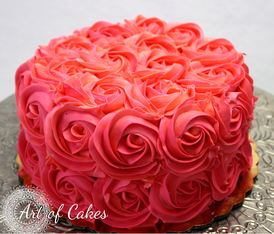 Rose Garden Cakes Art of Cakes Maryville Tn